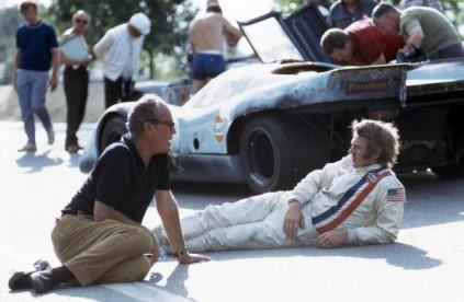Steve McQueen in LeMans the movie