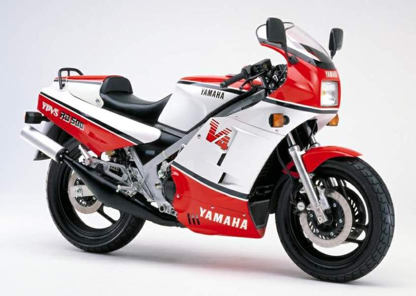 Yamaha RD500 1