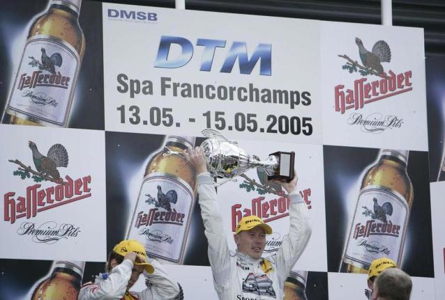 La AMG-Mercedes Classe C DTM Touring del 2005 di Mika Hakkinen