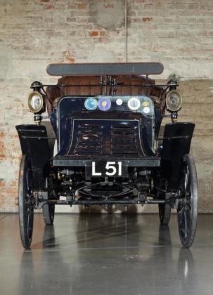 """Mercedes-Benz Ideal 7hp Bicilindrica """"Contra-Motor"""" Vis-à-vis del 1901"""