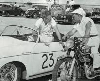 356 Speedster and James Dean 50's