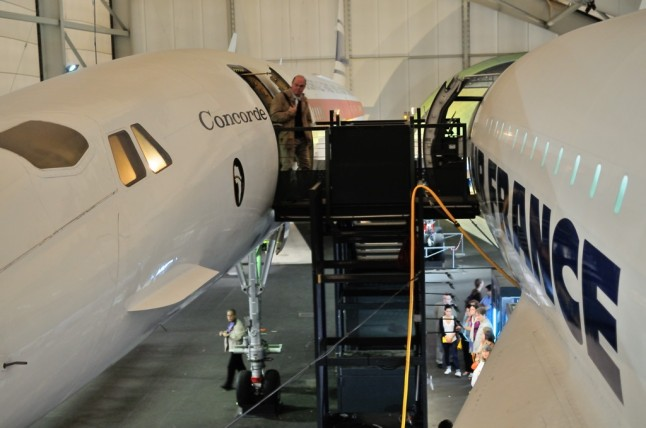 Concorde 001 vs Concorde 2003