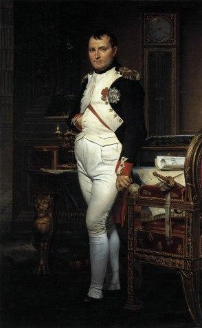 """Jacques Louis David """"Napoleone nel suo studio"""" 1812"""
