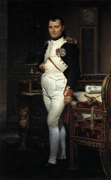 "Jacques Louis David ""Napoleone nel suo studio"" 1812"