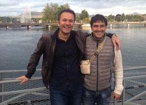From left Manuel Galvez & Andrea Foffi