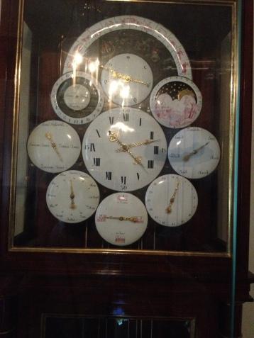 Orologio a pendolo di Napoleone I - Museo di Fontainebleu