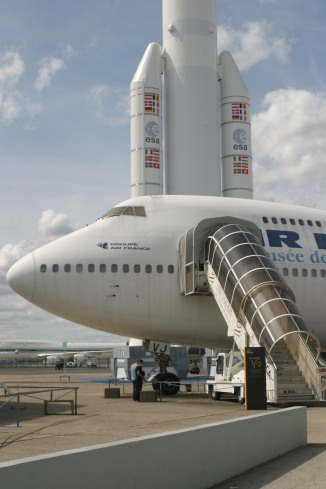 Le Bourget Air and Space Museum - Paris