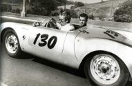 Porsche 550 Spyder and James Dean 50's
