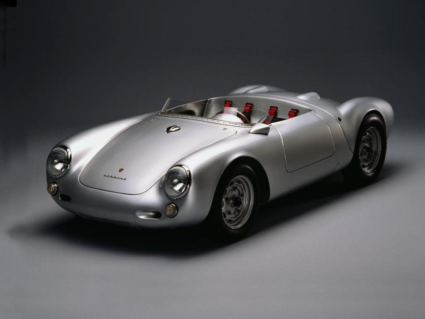 Porsche 550 Spyder 50's