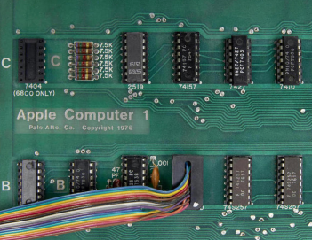Apple1 motherboard