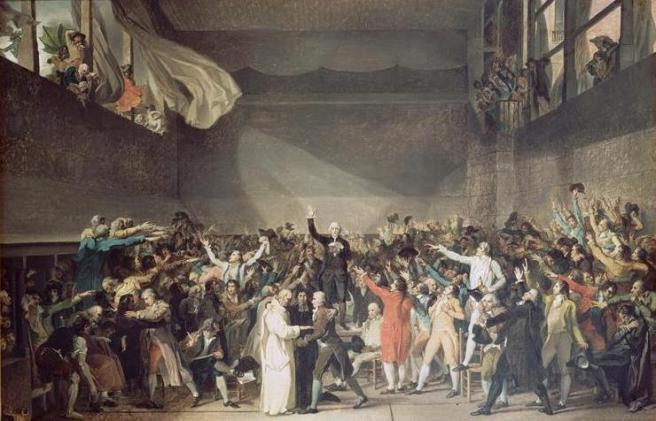 Giuramento della pallacorda - Jacques Louis David