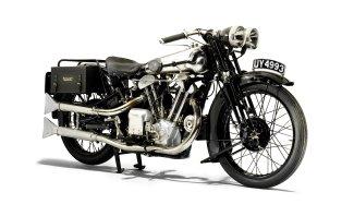 1929 Brough Superior 986cc SS100 Alpine Grand Sports - 3