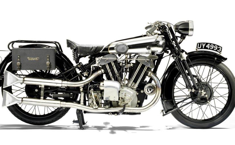 Bonhams over the alpine peaks: 1929 Brough Superior SS100 986cc Alpine GranSport