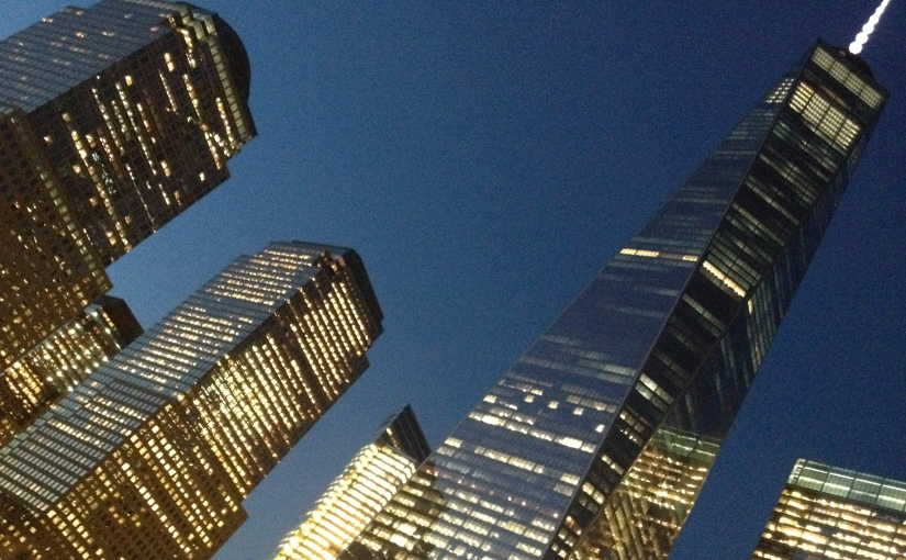 New York, The FreedomTower.