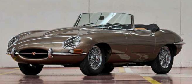 965 Jaguar e-type