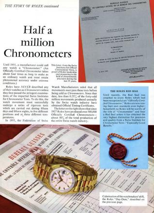 Chronometer Certification