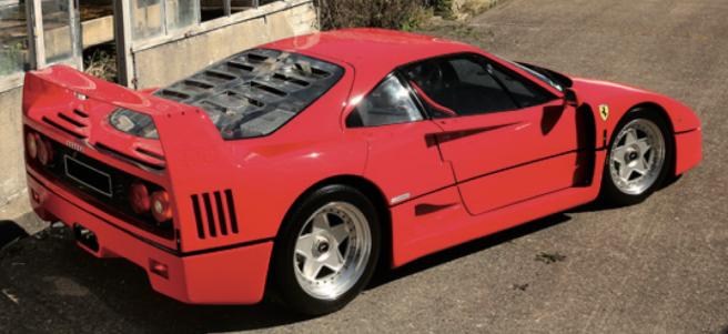 1989 Ferrari F40 €750-850k