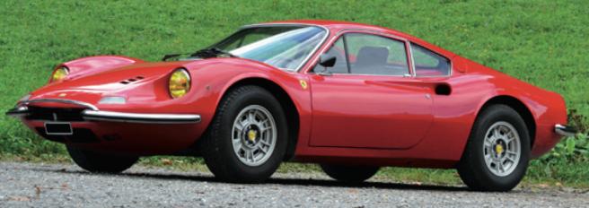 1971 dino 246 Gt €250-300k