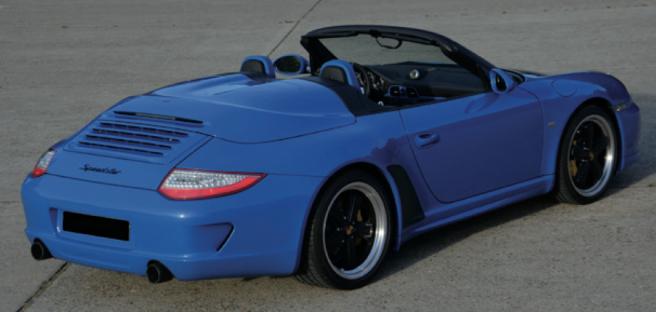 2011 porsche speedster 997 LiMited edition # 60 €210-250k