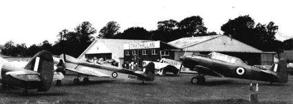1939 Miles M14A Hawk Trainer III (Magister) -1