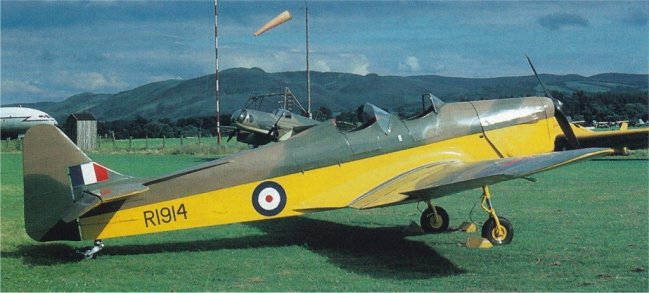 1939 Miles M14A Hawk Trainer III (Magister) - 7
