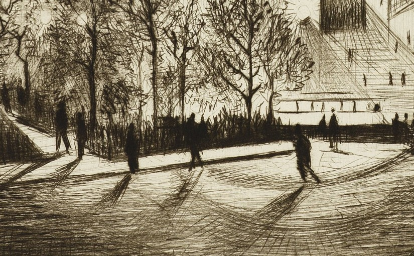 World War I Nevinson's avant-garde images of New York at Bonhams print sale