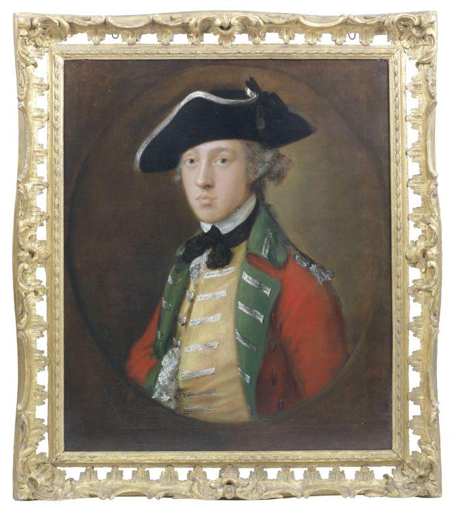 77 Gainsborough Portrait of an Officer