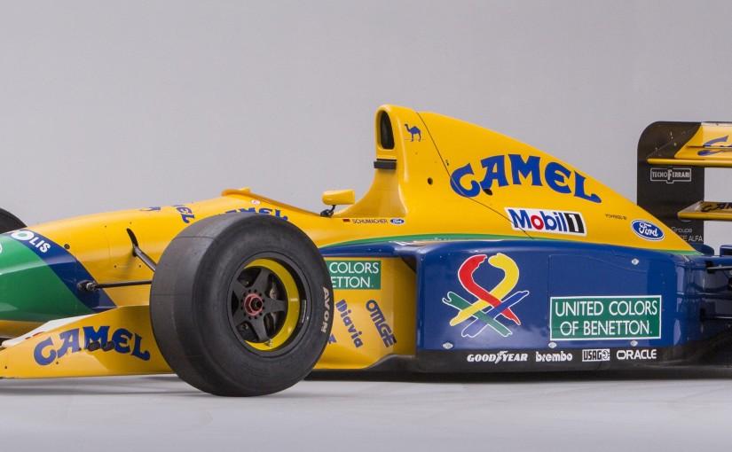 Michael Schumacher Benetton-Ford  to be offered at Bonhams Bond StreetSale