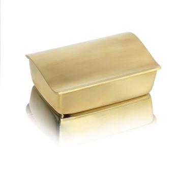 GERALD BENNEY- A unique 18 carat gold box London 1966