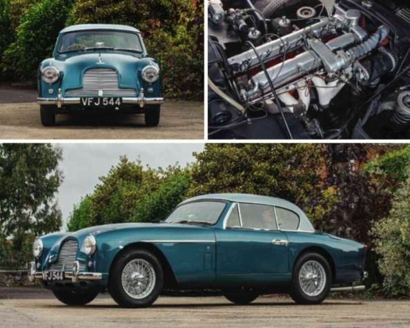 1956 Aston Martin DB2/4 MKII fixed head coupè by Tickford