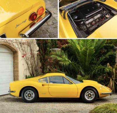1972 Ferrari Dino 246 Gt Coupè by Pininfarina/Scaglietti
