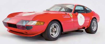 1969 Ferrari 365 GTB/4 Berlinetta competizione by Scaglietti Daytona