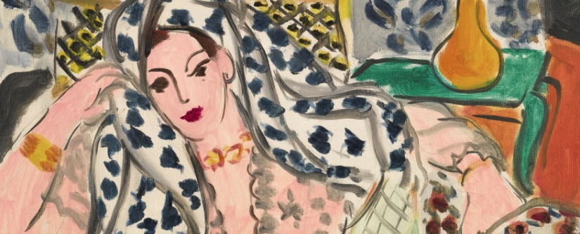 """Sotheby's to offer Matisse """"Odalisque au fauteuil noir"""", est. £9-12 milion – London, Feb.2015"""