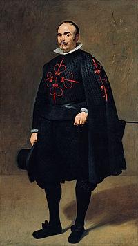 Pedro de Barberana y Aparregui, Knight of Calatrava, Diego Velázquez (1631)