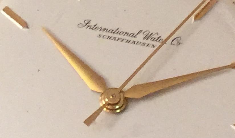 Oredelmondo Christmas gift: 1957 IWC Caliber 89 Yellow Gold18k