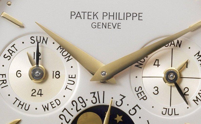 """December Fine Watch sale"" at Bonhams Bond Street: Patek Philippe Ref. 3974 sold for£218,500"