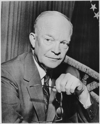 David Dwight Eisenhower (October 14, 1890 – March 28, 1969) 34th President of the United States from 1953 until 1961