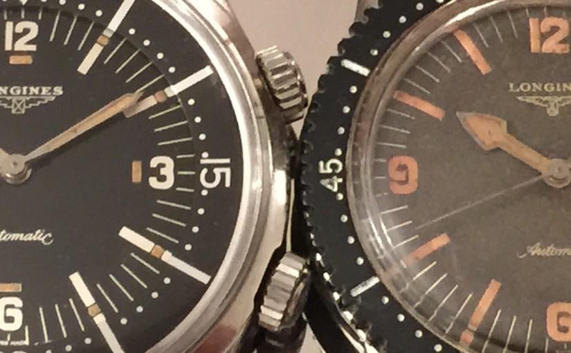 Longines Nautilus Skin Diver Ref. 6921-1 and Ref. 7042-1: DiverPower