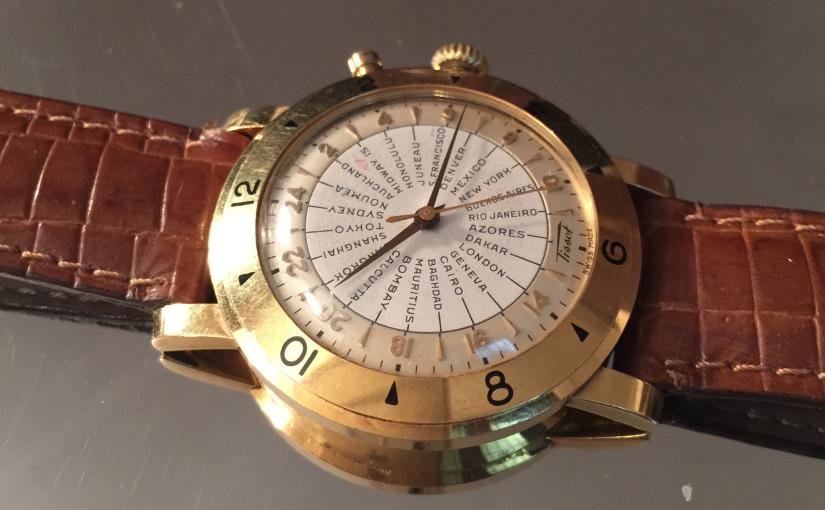 Oredelmondo Christmas gift: Tissot Worldtime Navigator1953