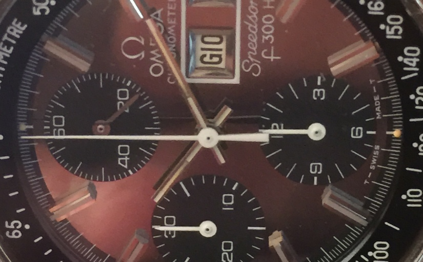 Oredelmondo Christmas gift: 1970 Omega SpeedsonicLobster