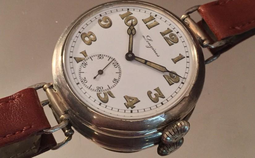Oredelmondo Christmas gift: Longines silver oversize1925