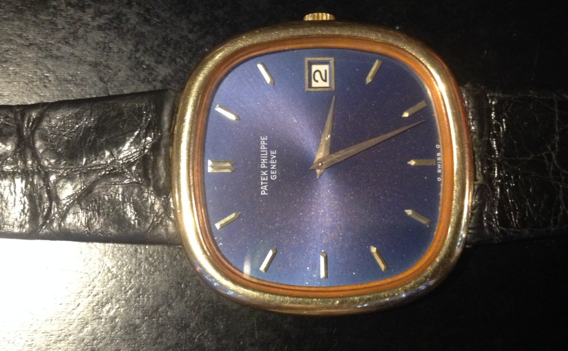 Patek Philippe Ref. 3604 Ellipse belonged to the same family for 40years