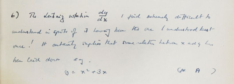 Turing on the Leibniz notation