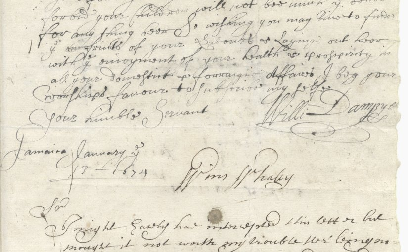The last letter by the first Briton to set foot in Australia, to be offered atBonhams