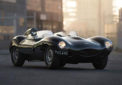Lot 135 1955 Jaguar D-Type $3,750,000 - $4,250,000