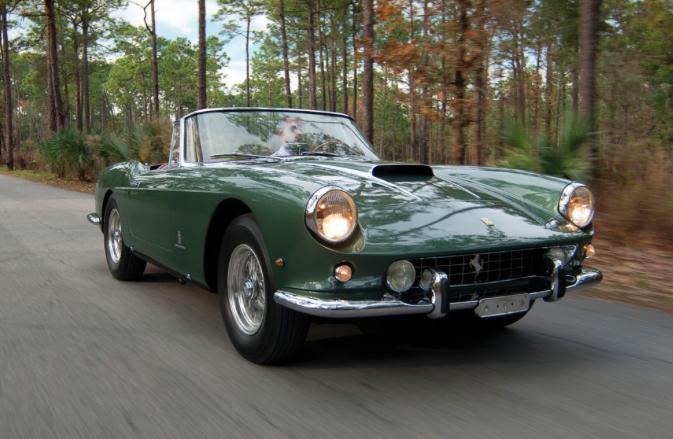 Lot 145 1960 Ferrari 400 Superamerica SWB Cabriolet by Pinin Farina $6,000,000 - $7,000,000