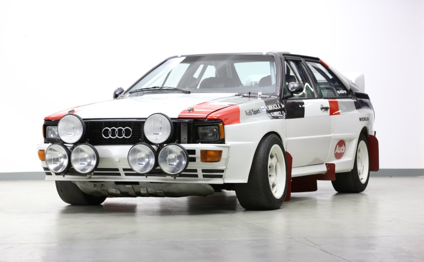 Legend of 1980s: A couple of Audi Quattro offered at Bonhams at Bonhams inaugural Members Meeting Sale,Goodwood