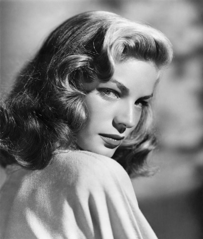 Bacall portrait