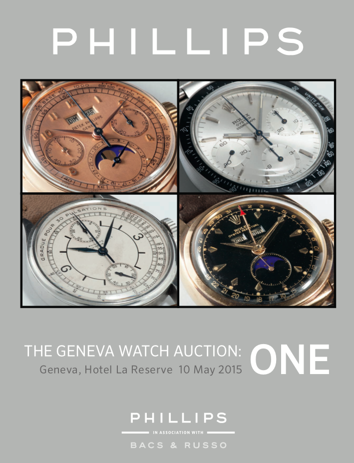 The Geneva Watch Auction ONE Catalog - pdf