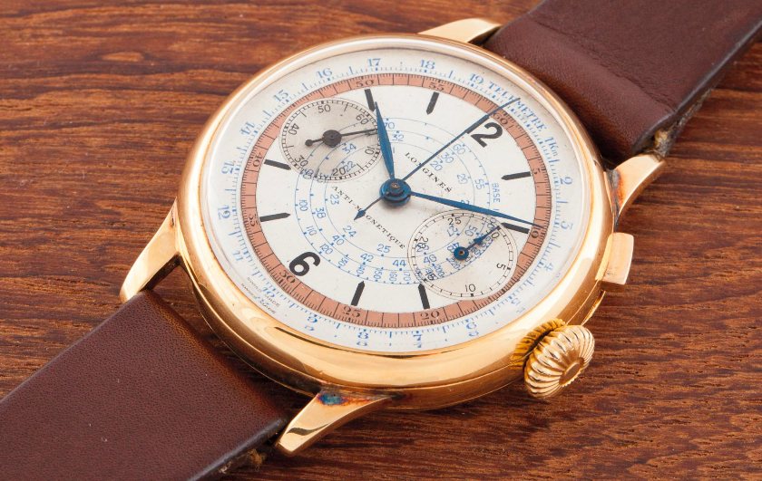 Lot 84 - LONGINES, 18k yellow gold, 1935, 40mm. Diameter Calibre: Manual, 15''' Case, dial and movement signed - Estimate CHF15,000 - 25,000